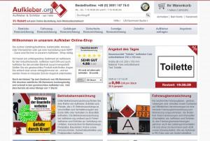 Aufkleber.org